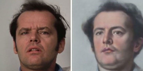 ai transforms celebrities photo into old portraits paintings 5d380b002065e 700