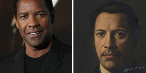 ai transforms celebrities photo into old portraits paintings 5d380bffb41b4 700