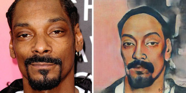 ai transforms celebrities photo into old portraits paintings 5d380c3722b84 700