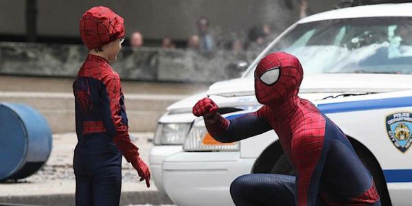 andrew garfield kid amazing spider man 2
