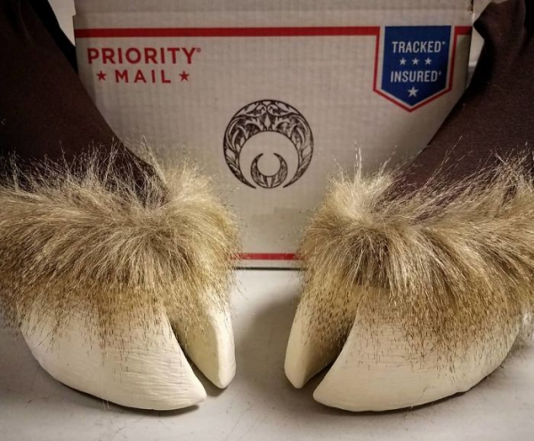 artist creates shoes in the shape of animal hooves and the result is impressive 5d7606cf26f30 700