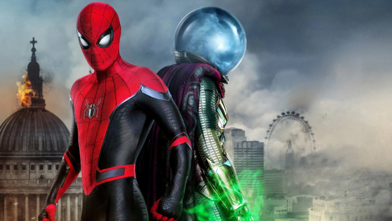 spider man far from home netflix release